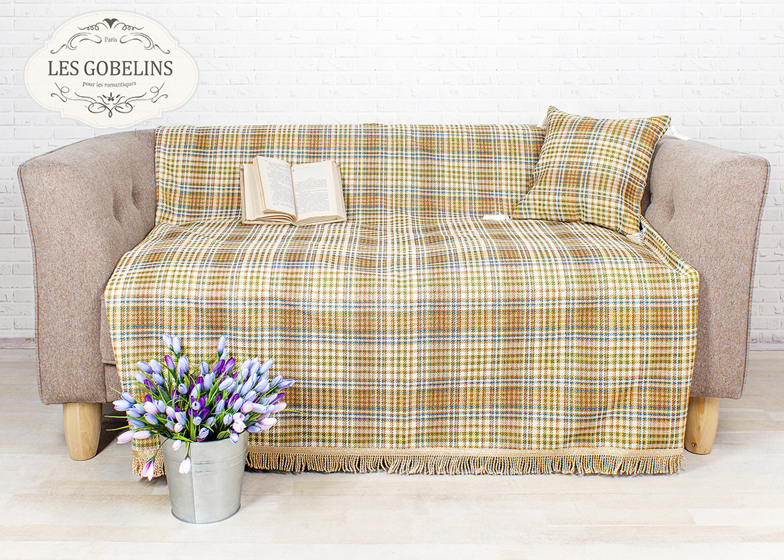 Покрывало Les Gobelins Накидка на диван Cellule vindzonskaya (130х210 см)