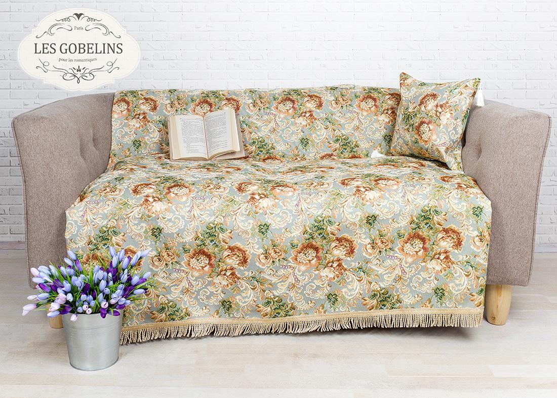 где купить  Покрывало Les Gobelins Накидка на диван Catherine (130х230 см)  по лучшей цене