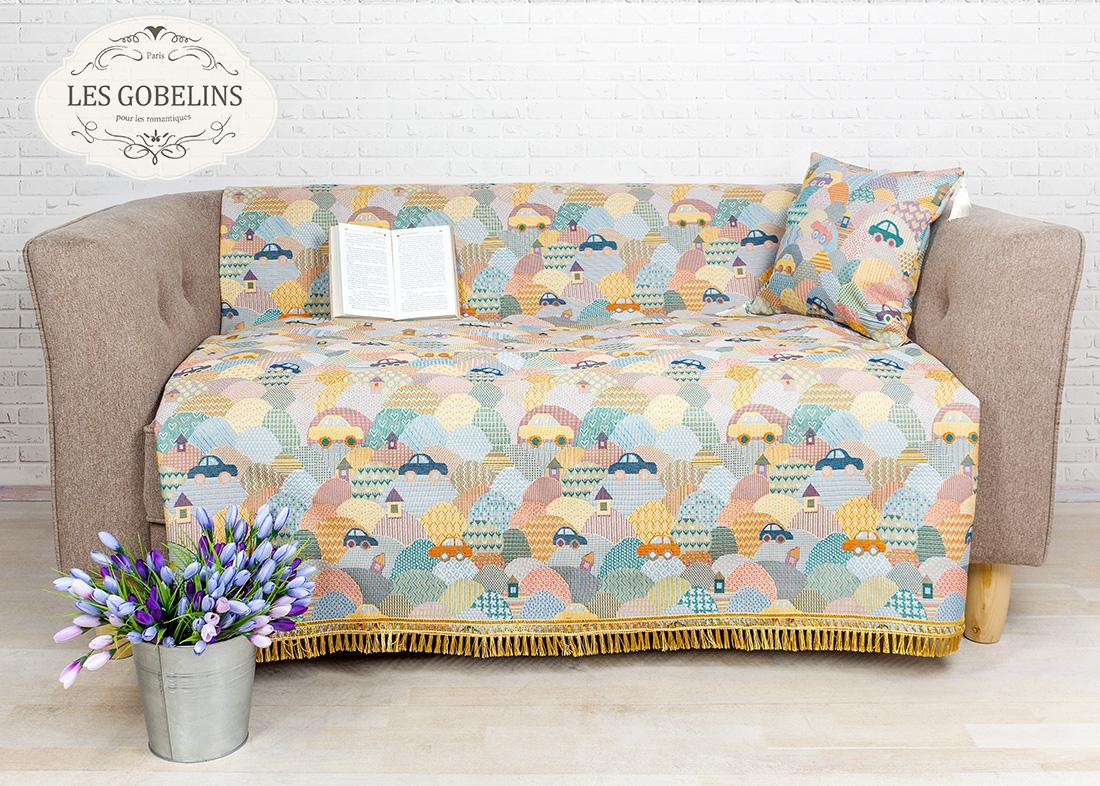Детские покрывала, подушки, одеяла Les Gobelins Детская Накидка на диван Clippers (160х160 см)