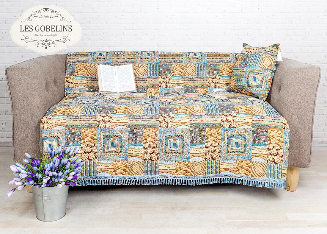 где купить  Покрывало Les Gobelins Накидка на диван Patchwork (130х230 см)  по лучшей цене