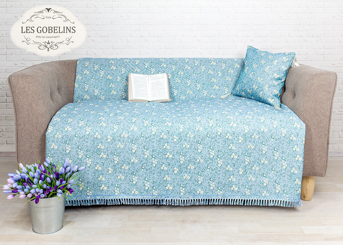 Детские покрывала, подушки, одеяла Les Gobelins Детская Накидка на диван Atlantique (150х180 см)
