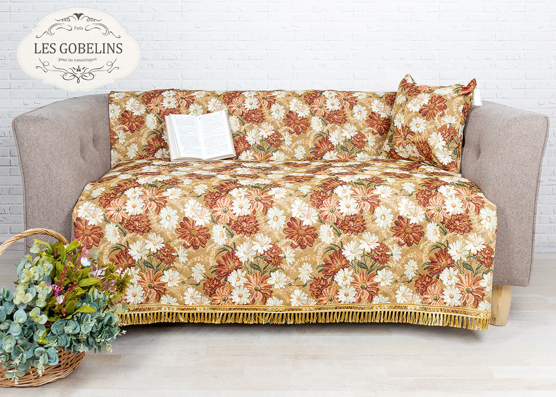 где купить  Покрывало Les Gobelins Накидка на диван Il aime degouts (140х160 см)  по лучшей цене