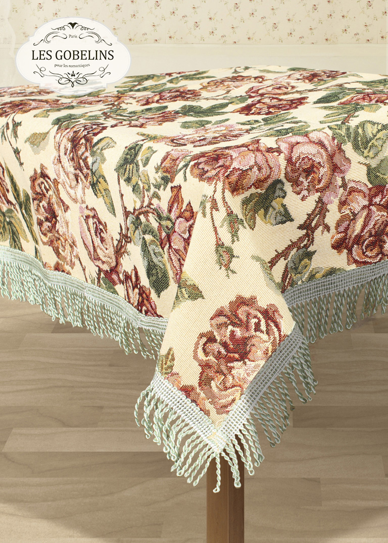 Скатерти и салфетки Les Gobelins Скатерть Rose vintage (140х180 см)