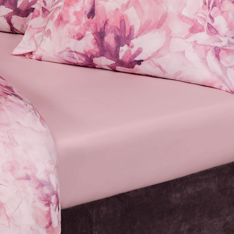 где купить  Простыни Togas Простыня на резинке Лорель Цвет: Розовый (180х200)  по лучшей цене
