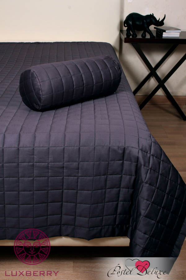 Luxberry Покрывало Squares Цвет: Графитовый (200х220 см)