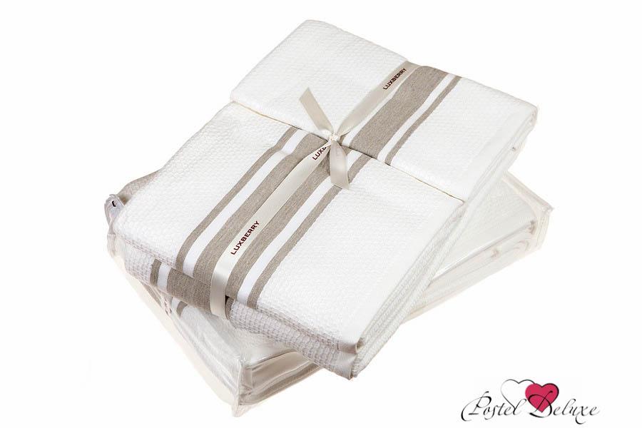 Полотенце LuxberryПолотенца<br>Производитель: Luxberry<br>Cтрана производства: Португалия<br>Материал: Вафля + Махра<br>Состав: 100% Хлопок<br>Размер: 30х50 см, 50х100 см, 70х140 см (по 1 шт)<br>Упаковка: Полиэтиленовый пакет<br>Плотность: 550 г/м2<br><br>Тип: полотенце<br>Размерность комплекта: None<br>Материал: Вафля,Махра<br>Размер наволочки: None<br>Подарочная упаковка: есть<br>Для детей: нет<br>Ткань: Вафля,Махра<br>Цвет: Бежевый