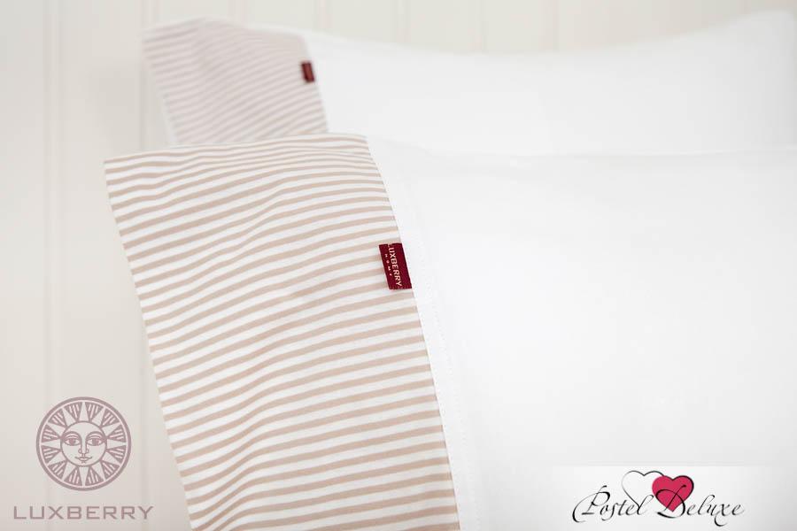 Пододеяльники Luxberry Пододеяльник Eloise Цвет: Белый-Бежевый (150х210 см)
