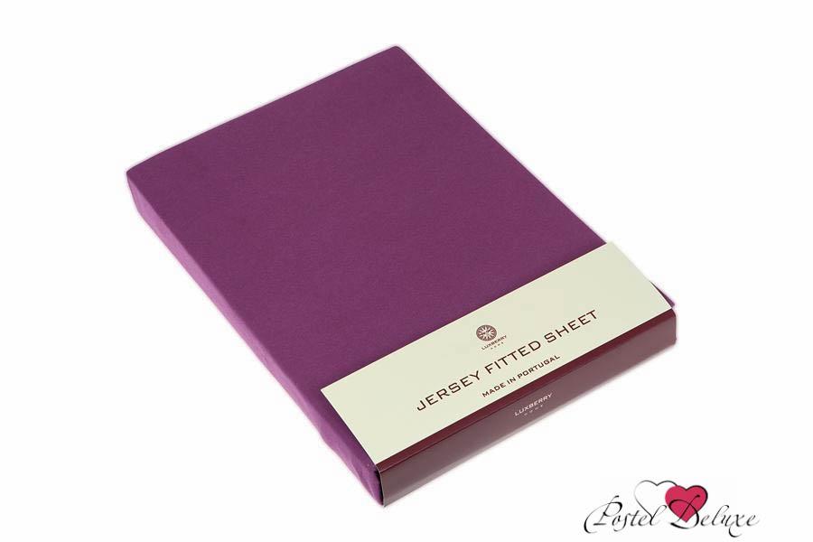где купить Простыни Luxberry Простыня на резинке Mordred Цвет: Винный (140х200) по лучшей цене