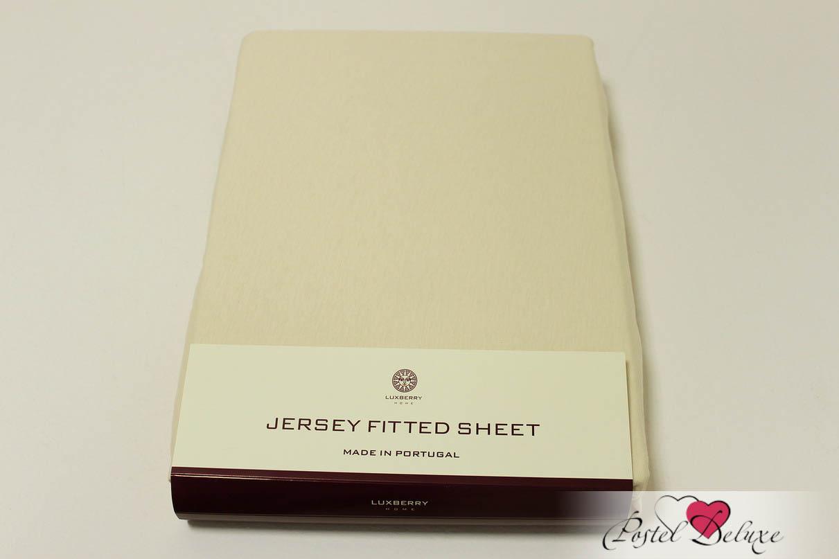 где купить Простыни Luxberry Простыня на резинке Mordred Цвет: Экрю (180х200) по лучшей цене