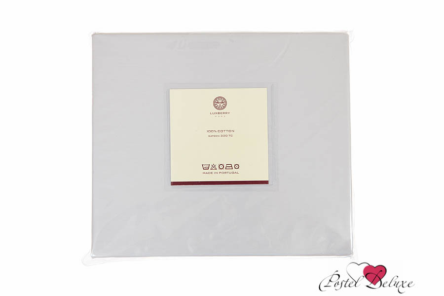 где купить  {} Luxberry Простыня Calipso Цвет: Серый Жемчуг (220х240)  по лучшей цене