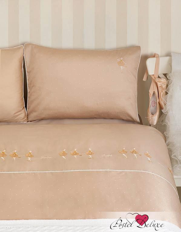 Luxberry КПБ Ballet Цвет: Телесный-Золотой (1,5 спал.)