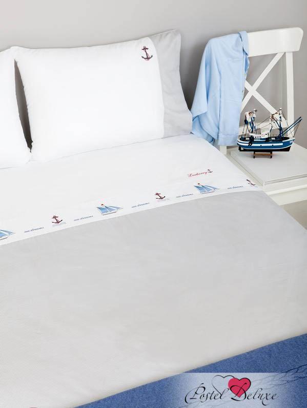 Luxberry КПБ Sea Dreams Цвет: Белый-Синий (1,5 спал.)