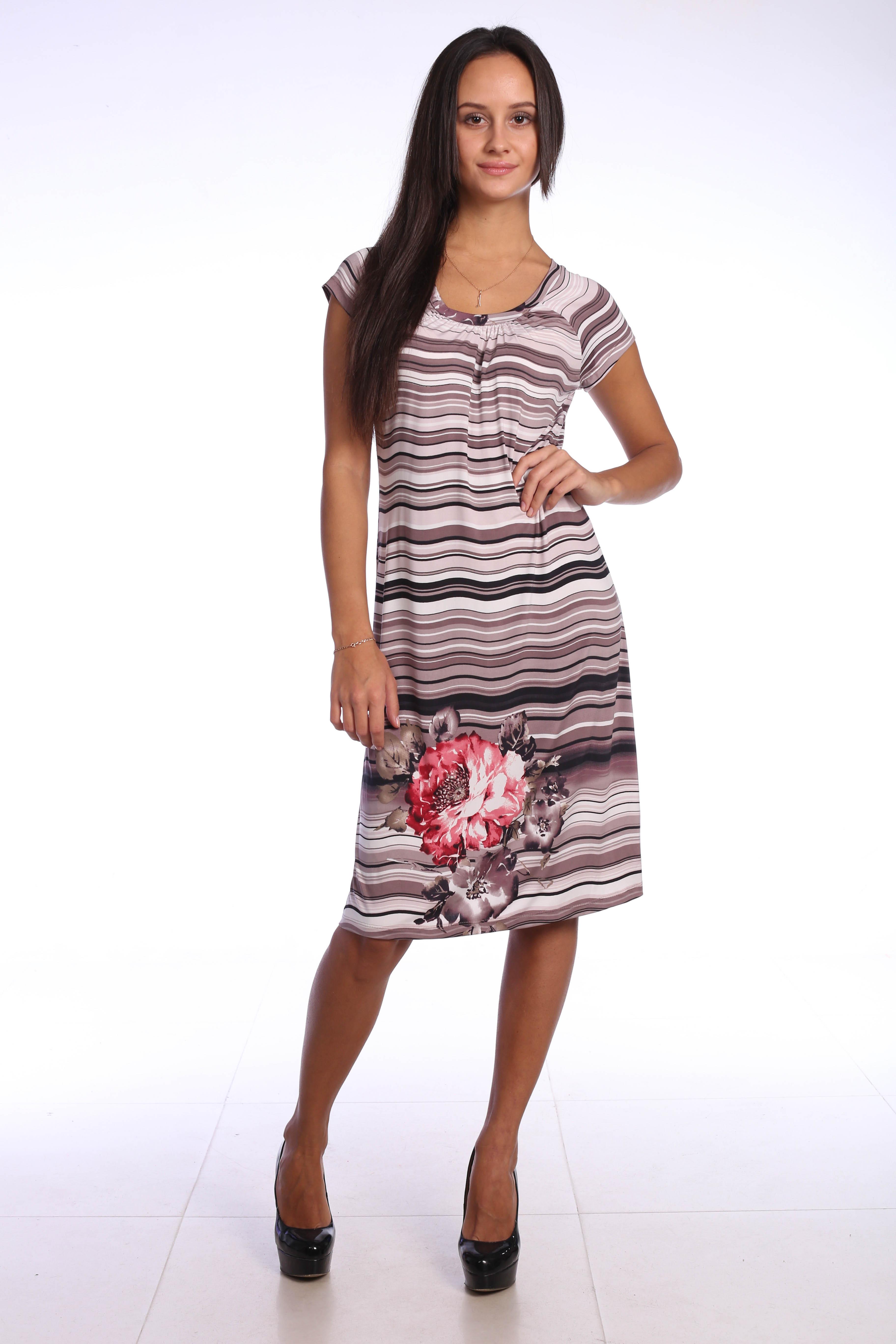 Костюмы для дома и отдыха Pastilla Платье Фиалка Цвет: Бежевый (M)