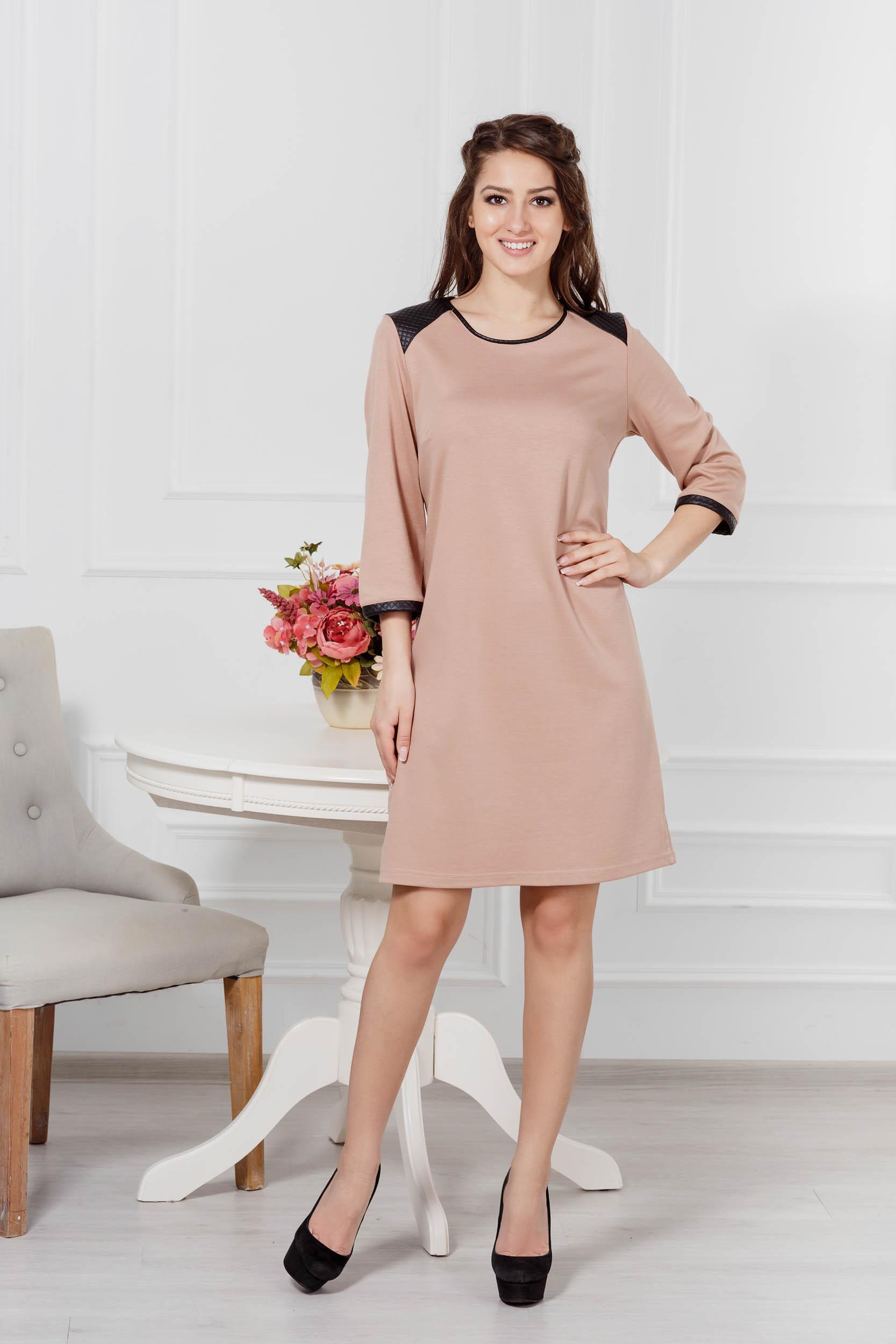 Костюмы для дома и отдыха Pastilla Платье Милан Цвет: Бежевый (M)