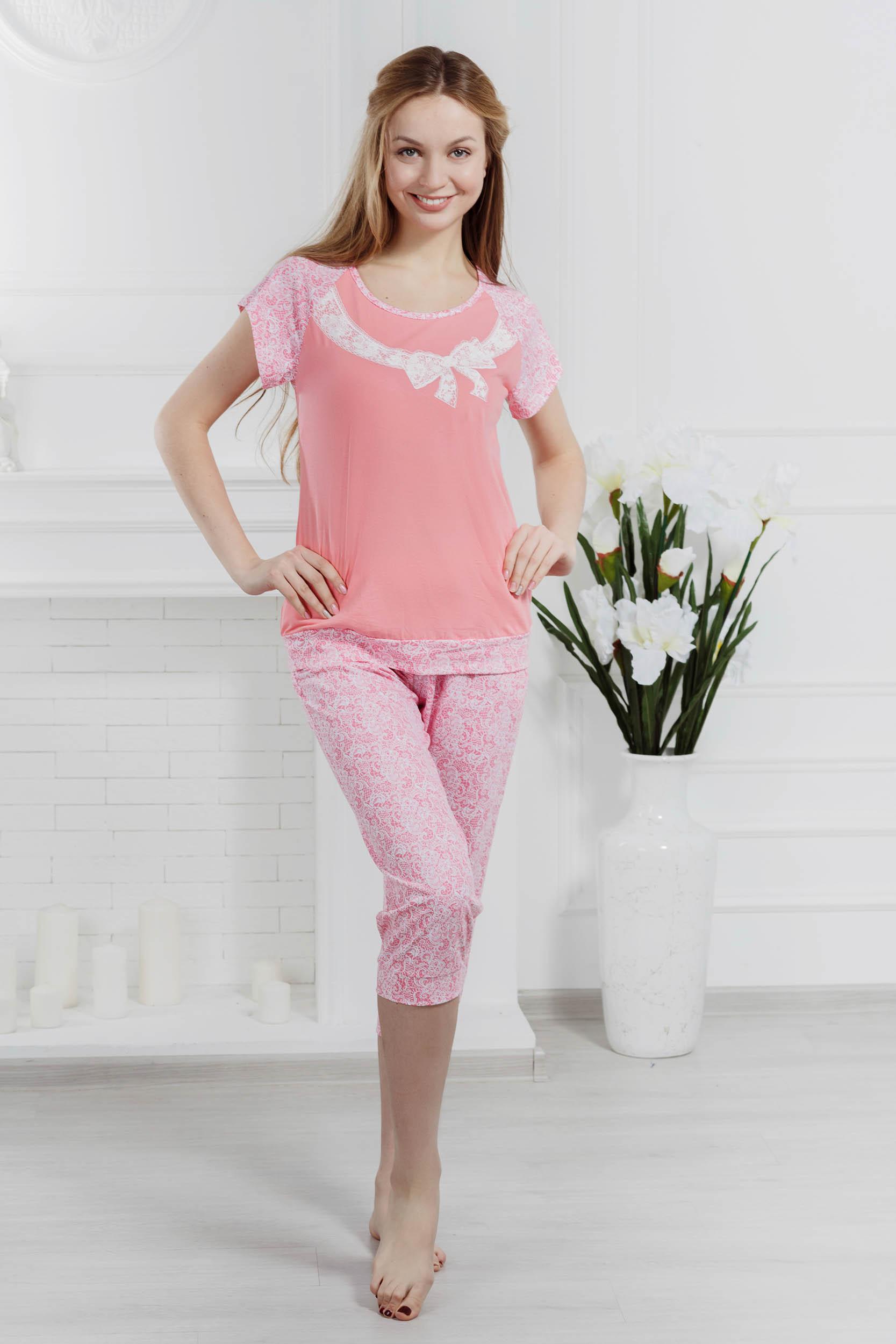 Костюмы для дома и отдыха Pastilla Костюм для дома Кружева Цвет: Розовый (M)