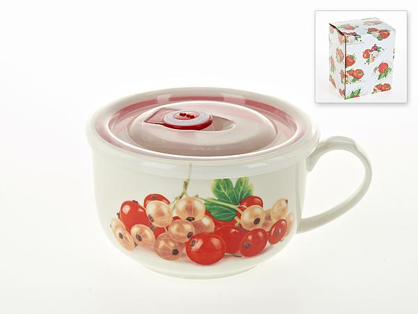 {} Best Home Porcelain Кружка суповая Спелая Смородина (600 мл)