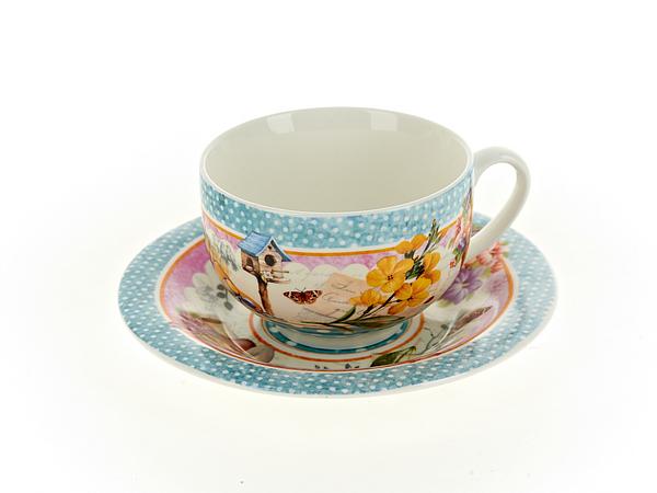 {} Nouvelle Чайная пара Сад (230 мл) подарочная корзина чайная с заварочной кружкой