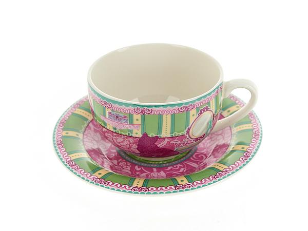 {} Nouvelle Чайная пара Кошки (230 мл) подарочная корзина чайная с заварочной кружкой