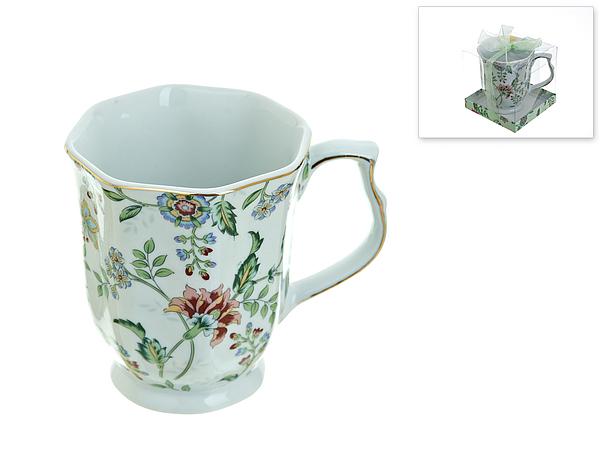 {} Best Home Porcelain Кружка Альпийский Сад (350 мл) кружка amber porcelain 220 мл 214176