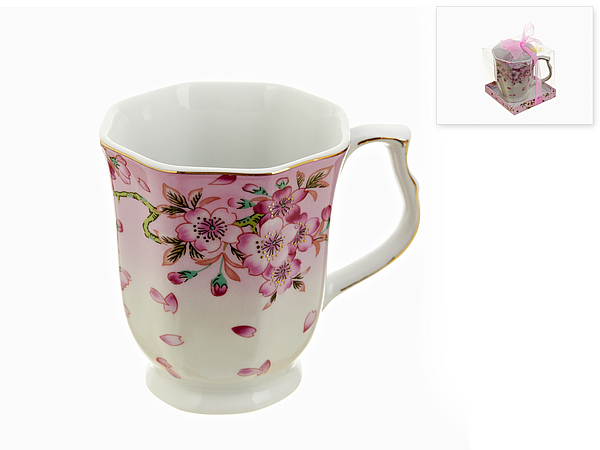{} Best Home Porcelain Кружка Яблоневый Цвет (350 мл) кружка amber porcelain 220 мл 214176
