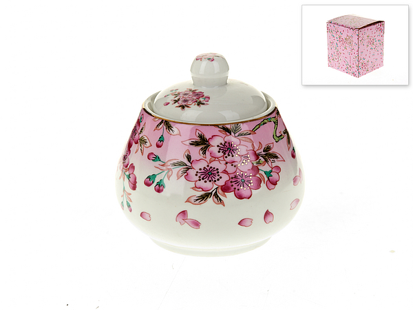 {} Best Home Porcelain Сахарница Яблоневый Цвет (10х10х10 см) сахарница 17х11х12 см best home porcelain сахарница 17х11х12 см