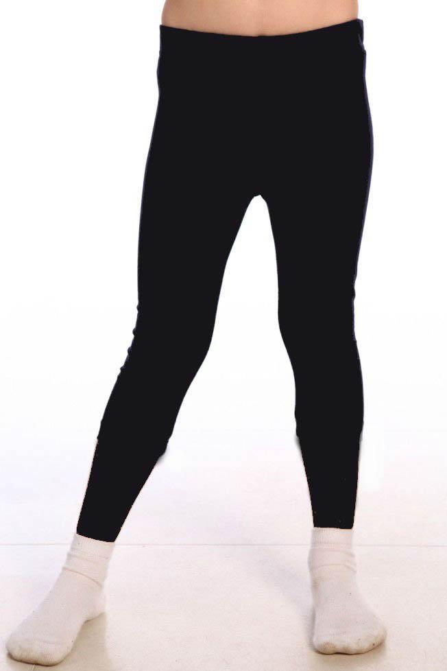 Детские брюки, шорты Pastilla Леггинсы Pen Цвет: Черный (7-8 лет)