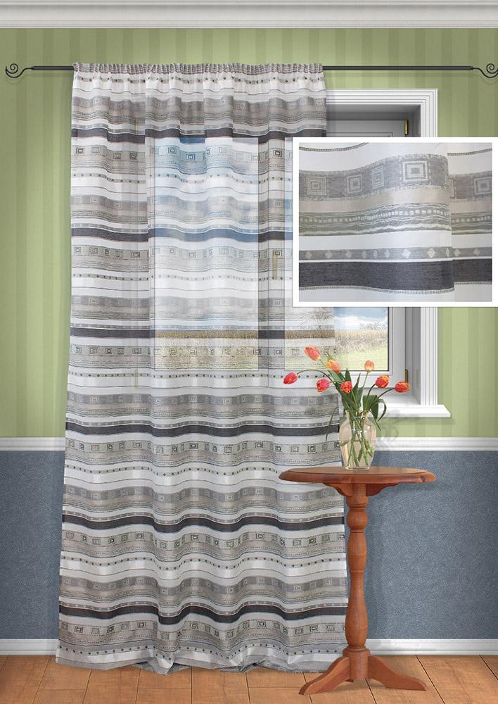 Шторы Kauffort Классические шторы Macadi - XL Цвет: Серый шторы kauffort классические шторы barolo