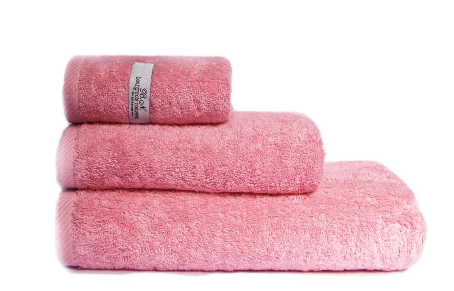 Полотенца Василиса Полотенце Буржуа Нуво Цвет: Розовый (45х90 см)