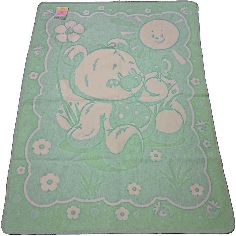 Детские Одеяло VladiДетские Одеяла<br>Детское одеяло байковое лёгкое полутороспальное<br>Размер: 100х140 см<br><br>Наполнитель: Байка<br>Плотность наполнителя: 390 г/м2<br>Состав: 100% Хлопок<br><br>Материал чехла: Без чехла<br>Отделка: Кант<br><br>Производитель: Vladi<br>Страна производства: Украина<br>Тип Упаковки: Полиэтиленовый пакет<br><br>Тип: Детские одеяло<br>Размерность комплекта: Детские1.5-спальное<br>Материал: Без чехла<br>Размер наволочки: None<br>Подарочная упаковка: Детские<br>Для детей: да<br>Ткань: Без чехла<br>Цвет: Зеленый