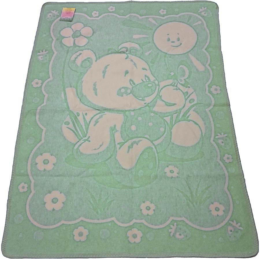 Детские покрывала, подушки, одеяла Vladi Детское одеяло Медвежонок (100х140 см) vladi vladi детское одеяло барвинок 100х140 см