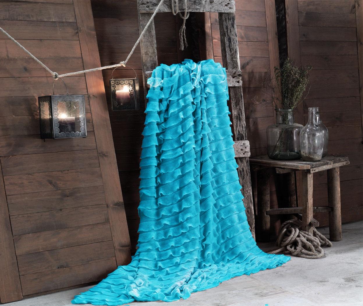 Накидки Issimo Накидка-палантин Milagro Цвет: Бирюзовый (150х200 см)