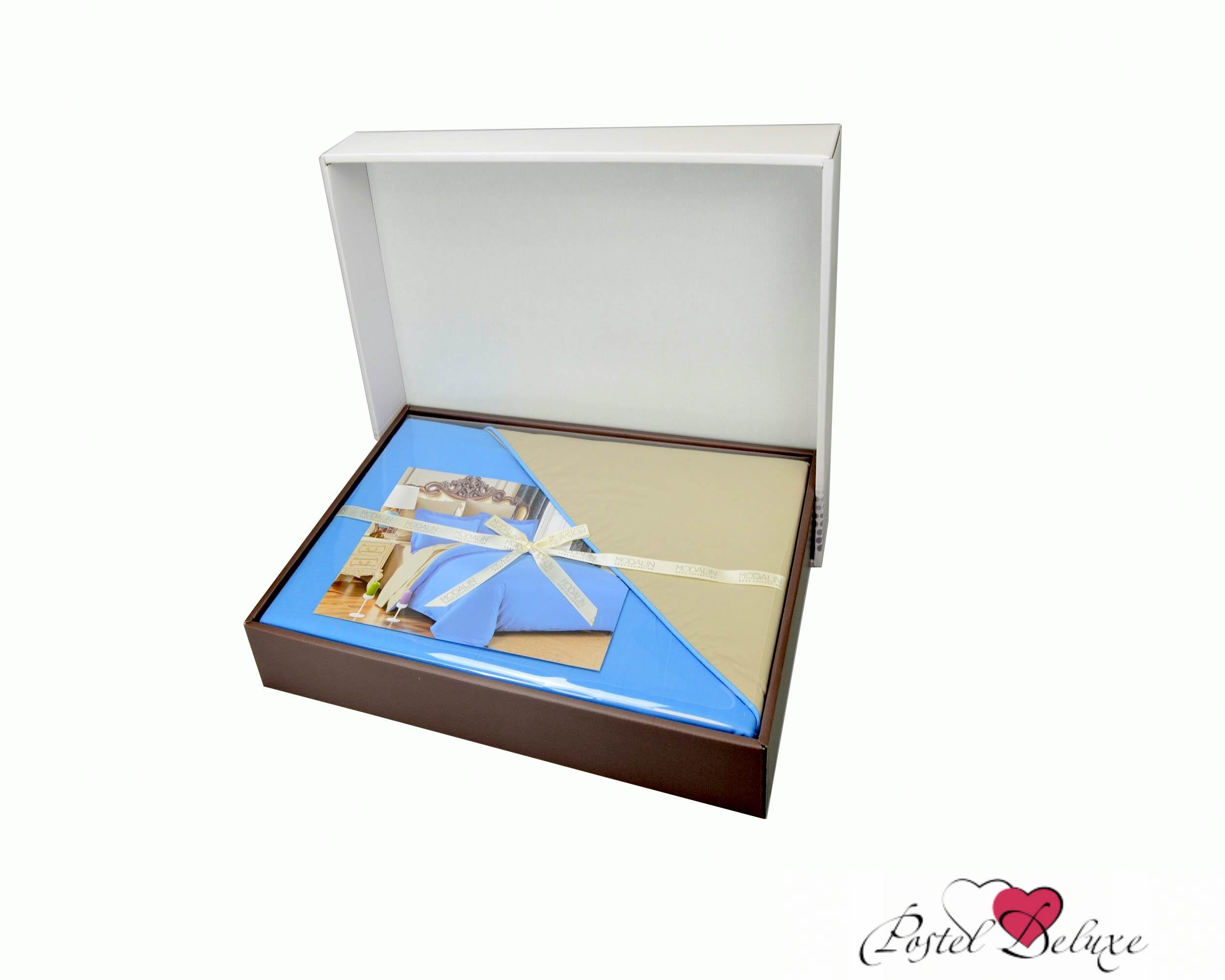 где купить  Постельное белье Karna Постельное белье Sanford Цвет: Синий/Серый (2 сп. евро)  по лучшей цене