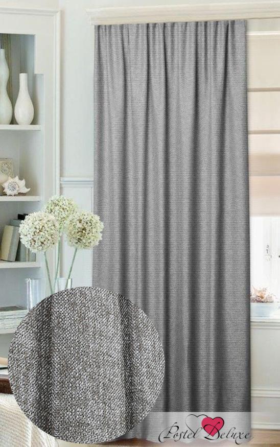 Шторы Mona Liza Классические шторы Имитация Льна Цвет: Серый mona liza mona liza классические шторы stacy цвет серый