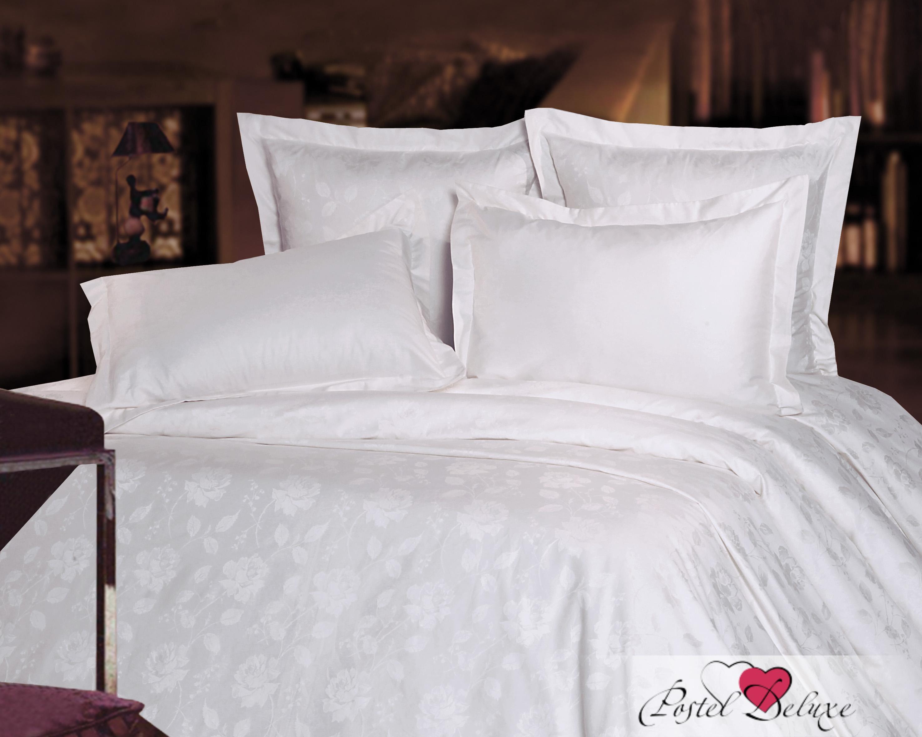 где купить  Постельное белье Mona Liza Постельное белье Роза Цвет: Белый (1,5 спал.)  по лучшей цене