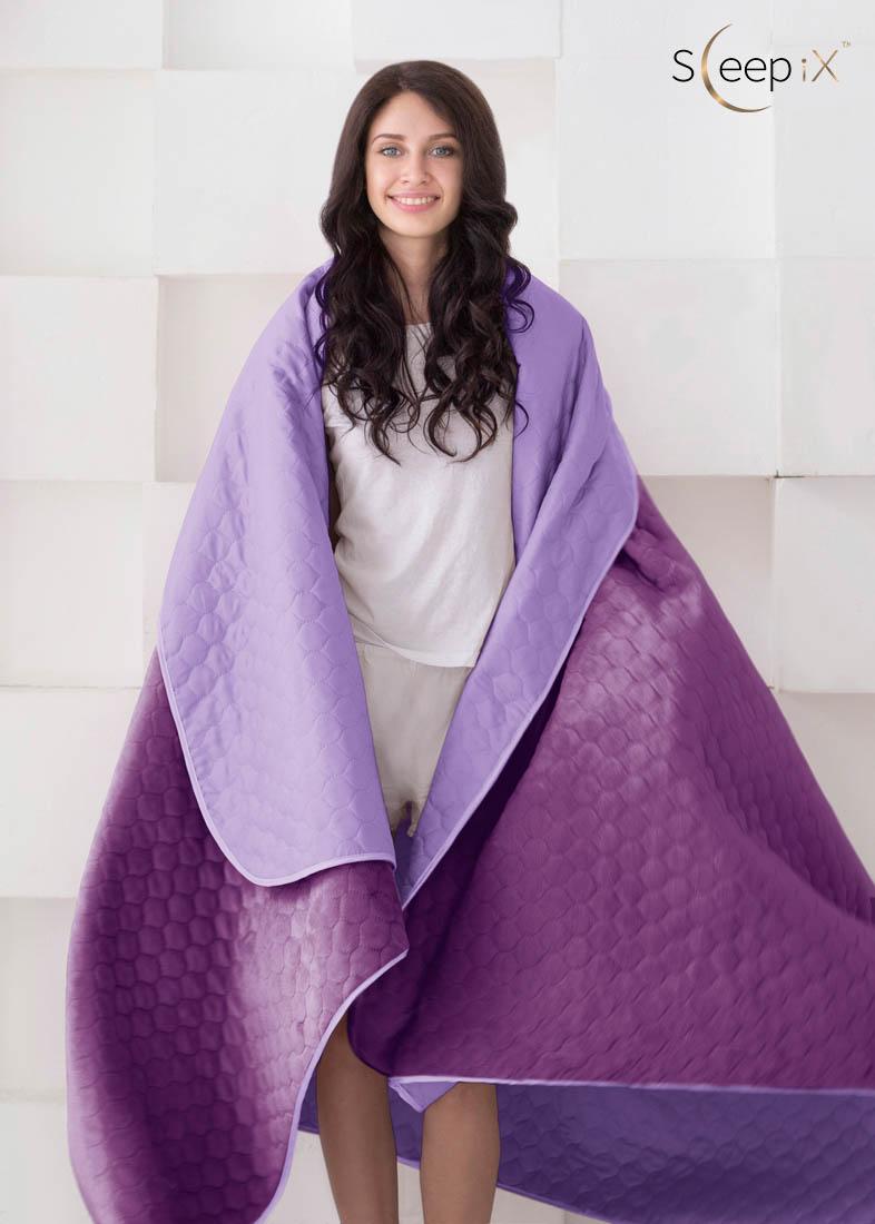 {} Sleep iX Набор Multi Set (с подушками) Цвет: Фиолетовый (200х220 см)