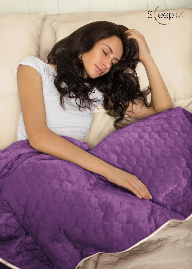 Sleep iX Набор Multi Set Цвет: Бежевый/Фиолетовый (200х220 см)