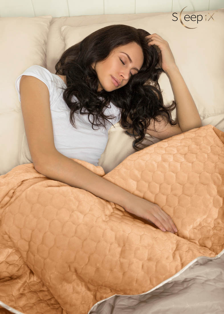 Sleep iX Набор Multi Set (с подушками) Цвет: Бежевый/Рыжий (220х240 см)