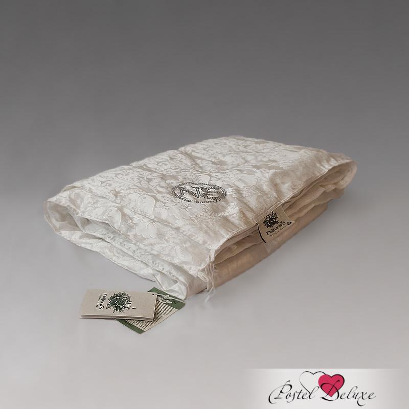 Одеяло NatureSОдеяла<br>Одеяло стёганое всесезонное двуспальное (евро)<br>Размер: 200х220 см<br><br>Наполнитель: Шелковое волокно (Натуральный шелк класса «Mulberry» (производство: «TIANJIN RUIFENG KNITING IMP.  EXP. CO., LTD» Китай))<br>Состав: 100% Натуральный шелк<br><br>Материал чехла: Хлопковый жаккард<br>Состав: 100% Хлопок<br>Отделка: Кант, Стразы и блестки<br><br>Производитель: NatureS<br>Страна производства: Россия<br>Тип Упаковки: Чемодан ПВХ<br><br>Тип: одеяло<br>Размерность комплекта: евростандарт<br>Материал: Хлопковый жаккард<br>Размер наволочки: None<br>Подарочная упаковка: None<br>Для детей: нет<br>Ткань: Хлопковый жаккард<br>Цвет: Кремовый