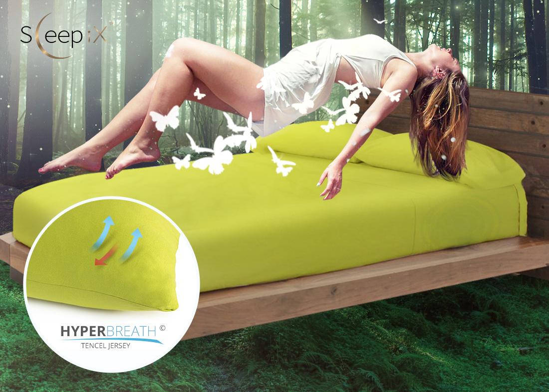 Наволочки Sleep iXНаволочки<br>Производитель: Sleep iX<br>Страна производства: Россия<br>Материал: Эвкалиптовый трикотаж (Джерси)<br>Состав материала: 95% Вискоза (Тенсел), 5% Лайкра<br>Застежка: Молния<br>Размер наволочек: 70х70 см (2 шт)<br>Упаковка: Полиэтиленовый пакет<br><br>Тип: Наволочки<br>Размерность комплекта: Наволочки<br>Материал: Эвкалиптовый трикотаж<br>Размер наволочки: None<br>Подарочная упаковка: Наволочки<br>Для детей: Наволочки<br>Ткань: Эвкалиптовый трикотаж<br>Цвет: Зеленый