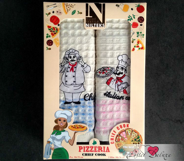 Кухонный набор NilteksКухонные наборы<br>Производитель: Nilteks<br>Страна производства: Турция<br>Материал: Вафля (100% Хлопок)<br>Размер: 50х70 см (2 шт)<br><br>Тип: кухонный набор<br>Размерность комплекта: None<br>Материал: Вафля<br>Размер наволочки: None<br>Подарочная упаковка: None<br>Для детей: нет<br>Ткань: Вафля<br>Цвет: Бежевый