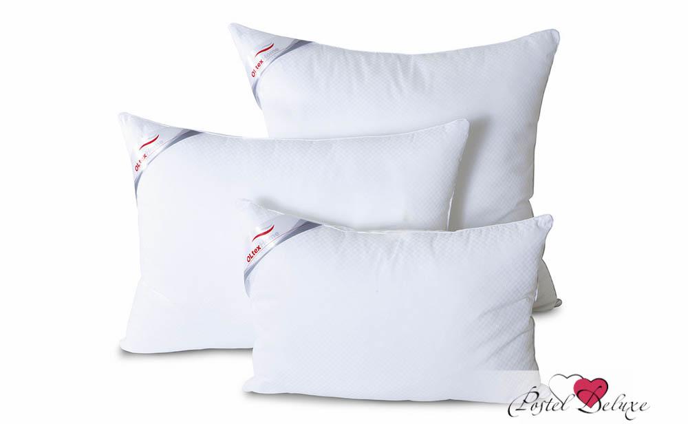 Подушка OL-TexПодушки<br>Подушка средняя для тех, кто спит на спине<br>Размер (см): 50х70 (1 шт) (Прямоугольная)<br><br>Наполнитель ядра: Силиконизированное волокно (Лебяжий пух (гипоаллергенное микроволокно OL-tex®))<br>Состав наполнителя ядра: 100% Полиэстер<br><br>Материал чехла: Хлопковый тик<br>Состав материала чехла: 100% Хлопок<br><br>Отделка: Кант<br>Застежка: Нет<br><br>Производитель: OL-Tex<br>Cтрана производства: Россия<br>Тип Упаковки: Чемодан ПВХ<br><br>Тип: подушка обычная<br>Размерность комплекта: None<br>Материал: Хлопковый тик<br>Размер наволочки: None<br>Подарочная упаковка: None<br>Для детей: нет<br>Ткань: Хлопковый тик<br>Цвет: None