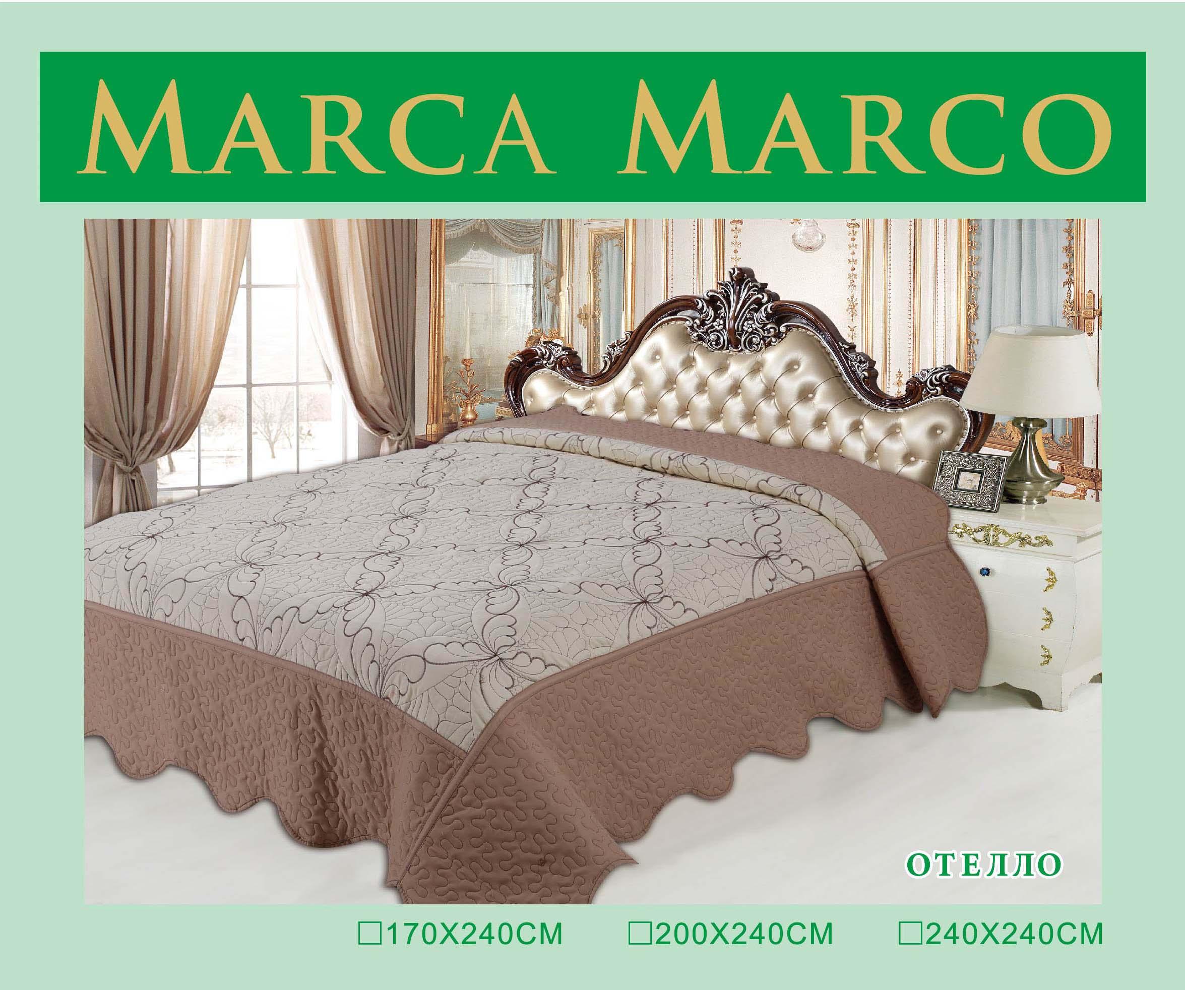 где купить  Покрывало MАRCA MARCO Покрывало Отелло (240х240 см)  по лучшей цене