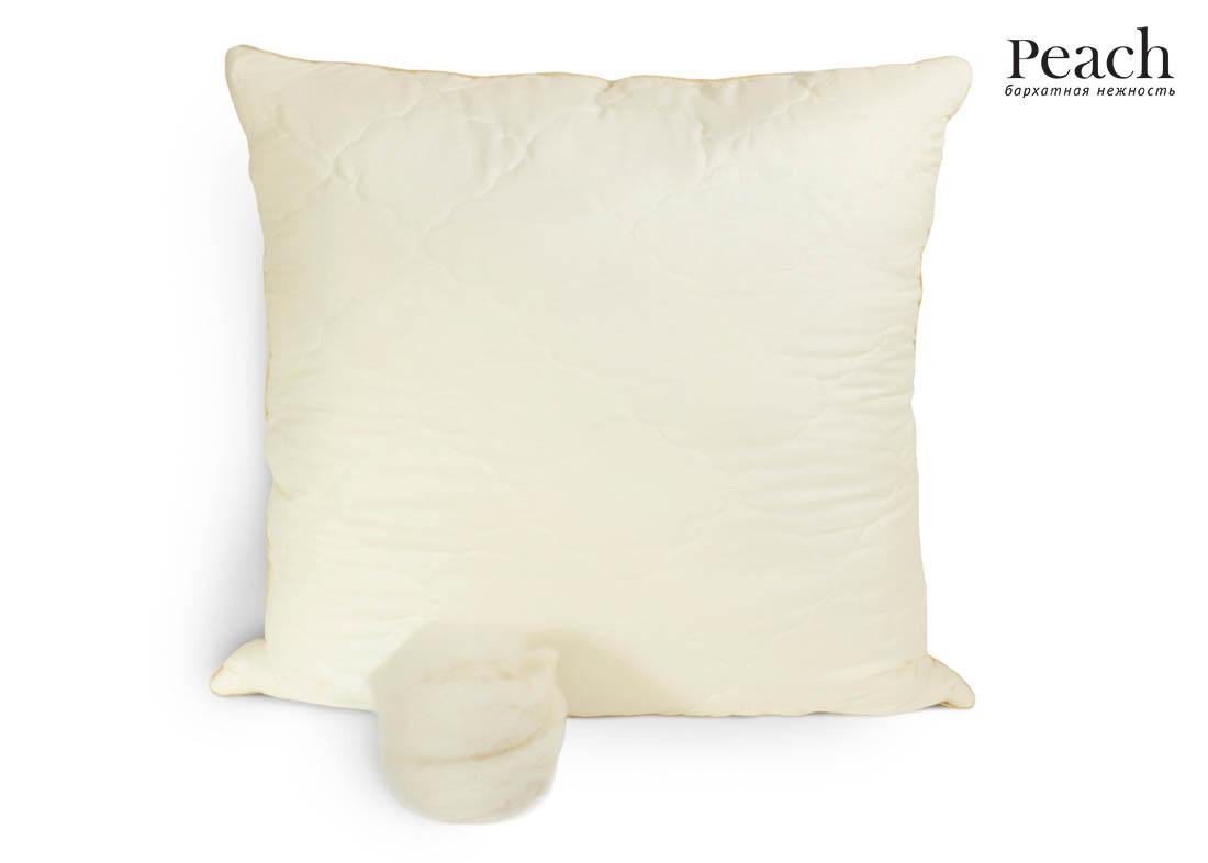 Подушка Peach из Овечьей Шерсти Средняя (70х70)