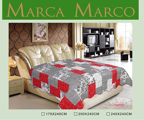где купить  Покрывало MАRCA MARCO Покрывало Парус (240х240 см)  по лучшей цене