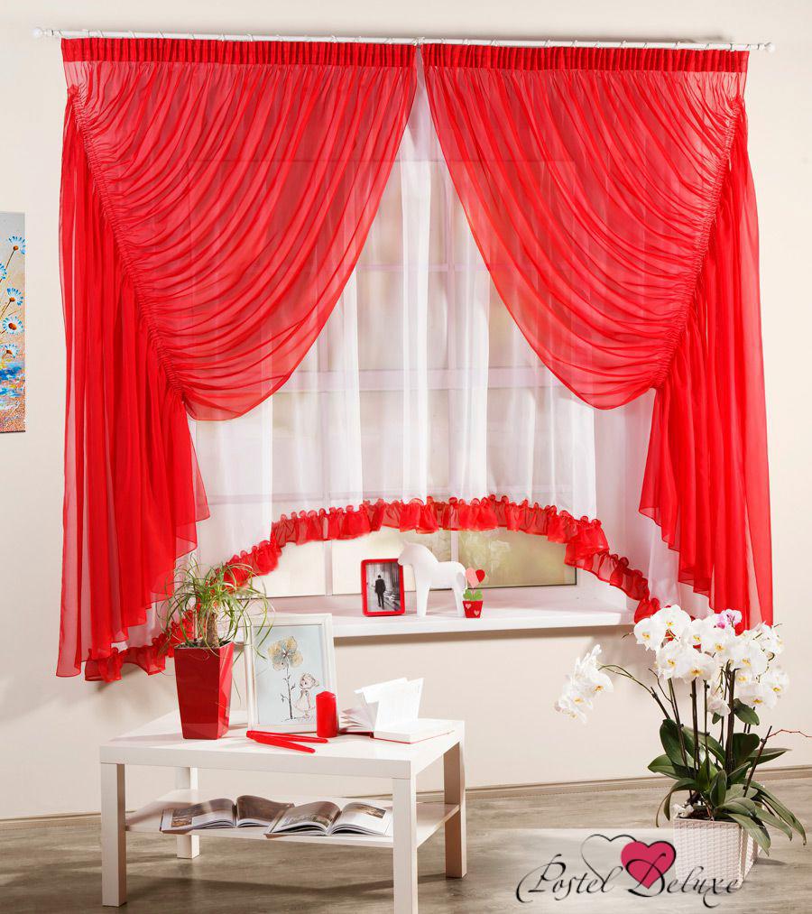 Фото красные шторы