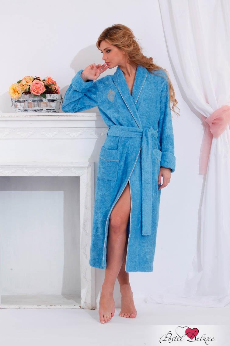 Сауны, бани и оборудование Peache Monnaie Халат Queen Цвет: Голубой (M)