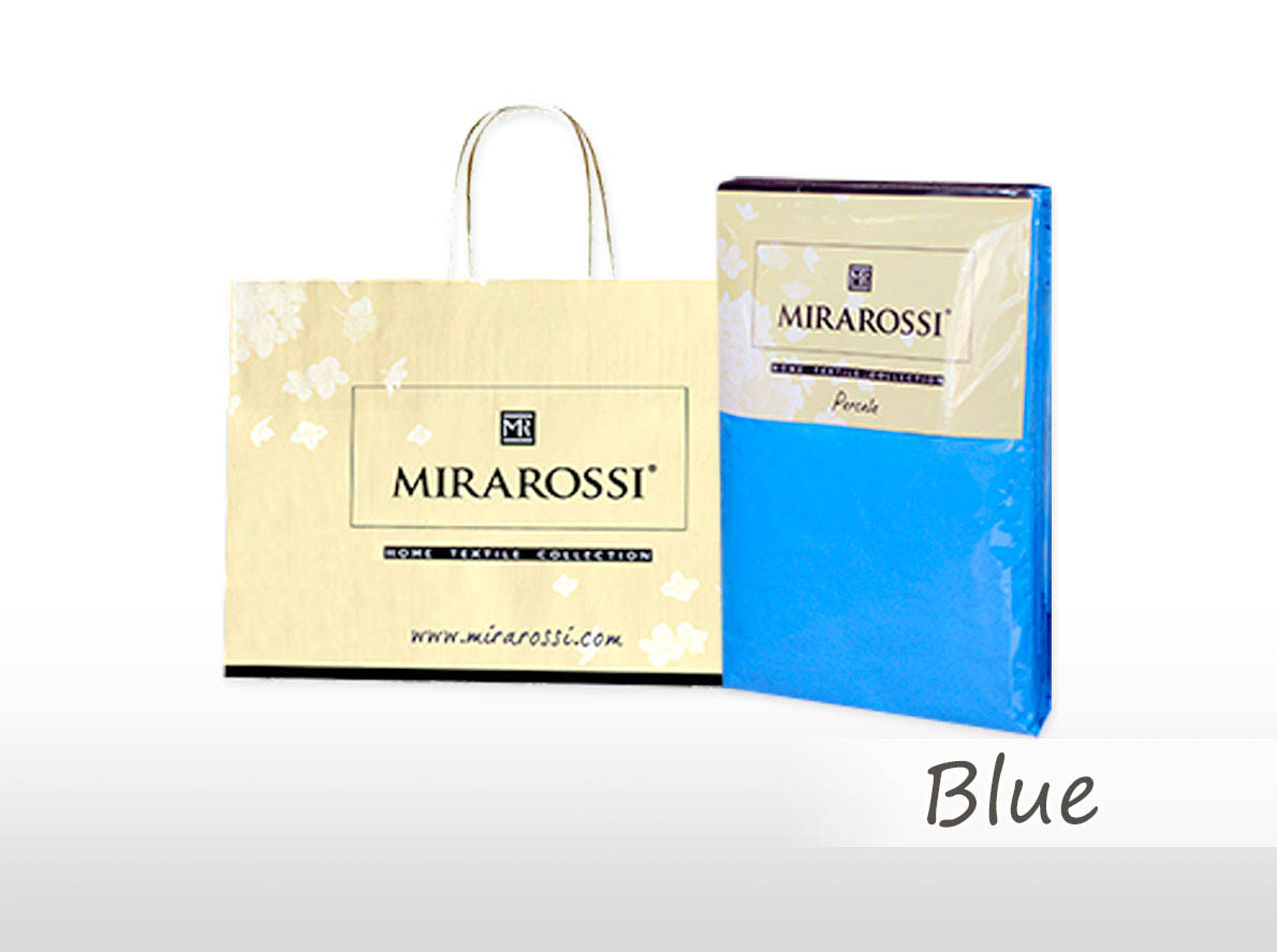 Простыни MIRAROSSI Простыня на резинке Nilo Цвет: Голубой (186х208) salsa кардиган nilo