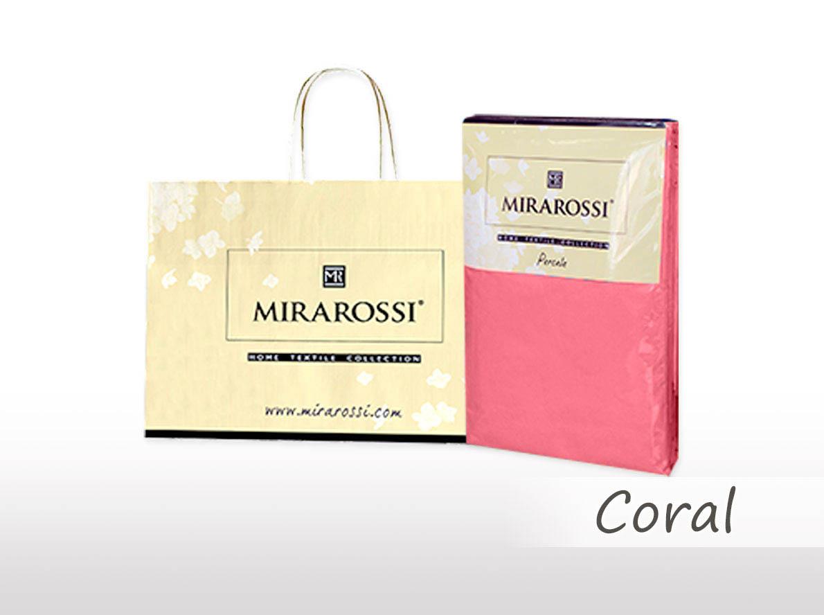 Простыни MIRAROSSI Простыня на резинке Nilo Цвет: Коралловый (166х208) salsa кардиган nilo