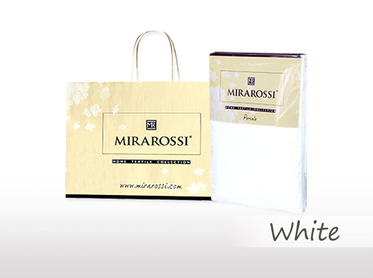 Простыни MIRAROSSI Простыня на резинке Nilo Цвет: Белый (166х208) salsa кардиган nilo