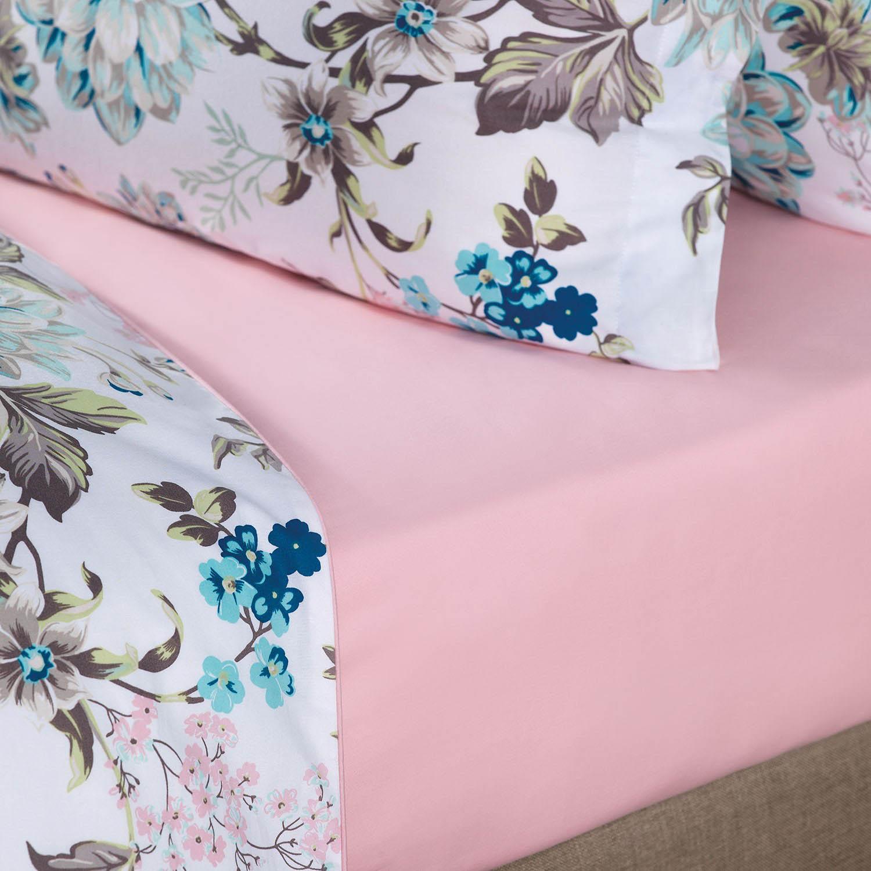 где купить  Простыни Togas Простыня на резинке Поллет Цвет: Розовый (180х200)  по лучшей цене